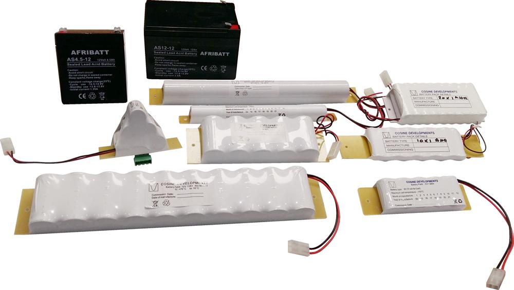 Cosine Developments Battery Packs