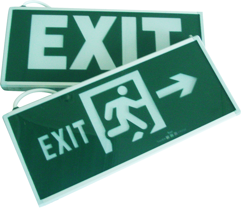 LED Double Sided Exit Sign