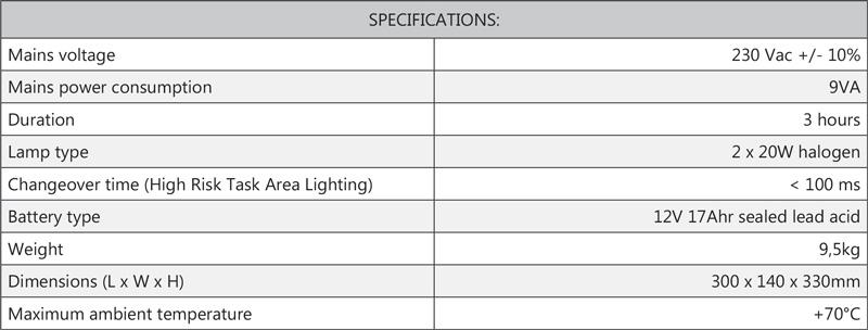 Cosine Developments ELS HP Specifications