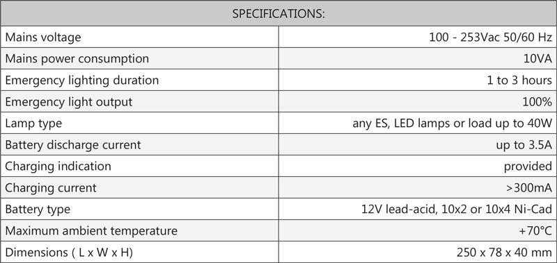 Cosine Developments ES40W specifications