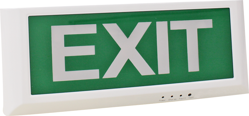 Cosine Developments, emergency lighting, smart product, durban, south africa, LED single Sided Exit sign