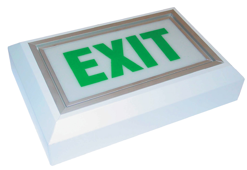 2XPL9 Emergency Exit Sign