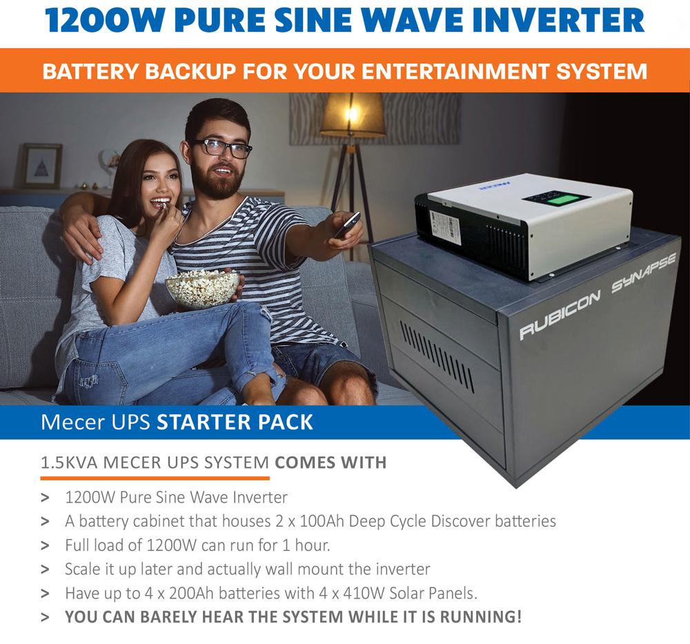 Cosine Developments 1200W Pure Sine Wave Inverter