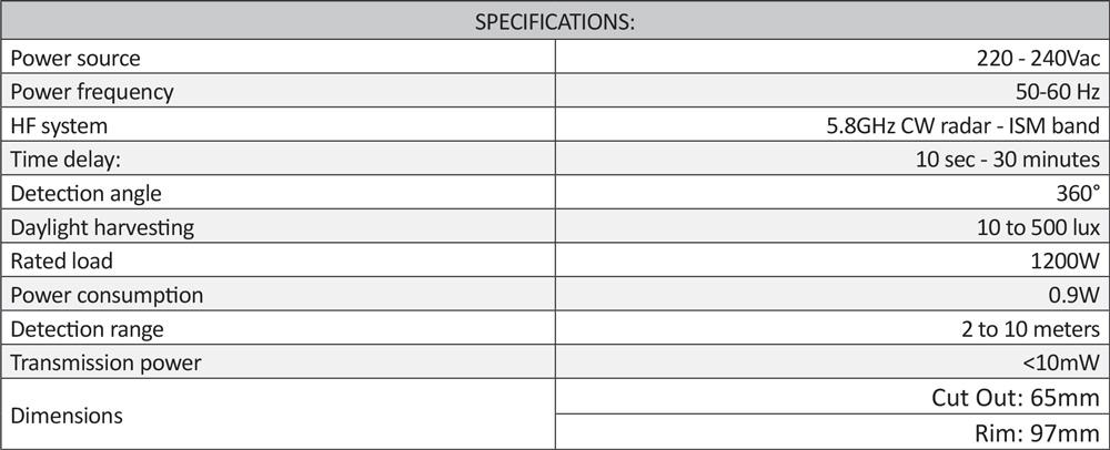 Cosine Developments CD-MV16 sepcifications
