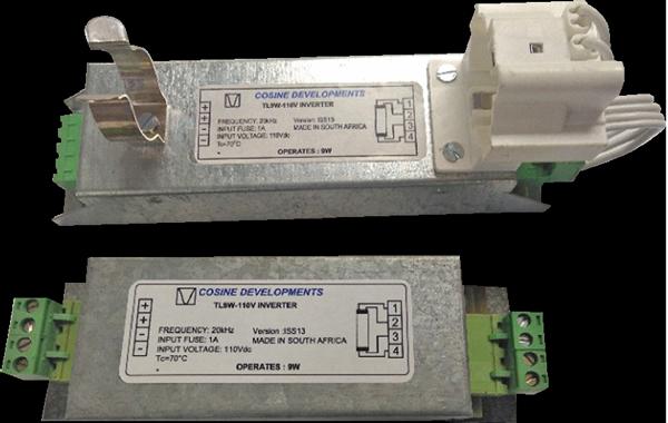 Cosine Developments TL9/110Vdc DC Inverter