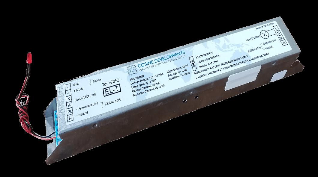 Cosine Developments THX ES25W self-testing emergency lighting systems specifications