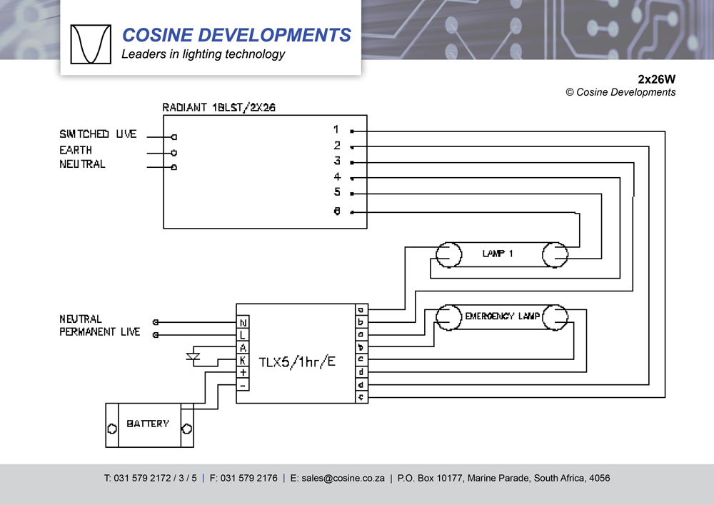 wiring diagrams  cosine developments