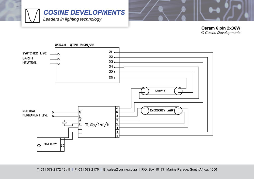 wiring diagrams osram 6pin 2x36w wiring diagrams osram ballast wiring diagrams at alyssarenee.co