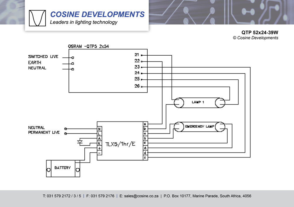 wiring diagrams rh cosinedevelopments com osram oti dali wiring diagram Ethernet Wiring Diagram